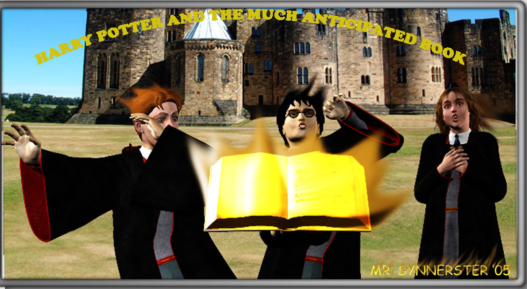 Harry Potter and the Much Anticipated Book by MrSynnerster