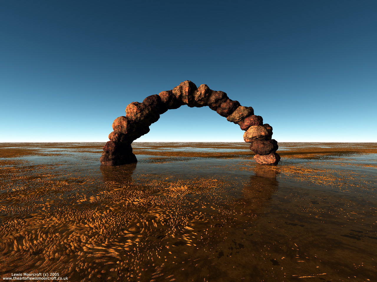 The Forgotten Arch by lewis_moorcroft