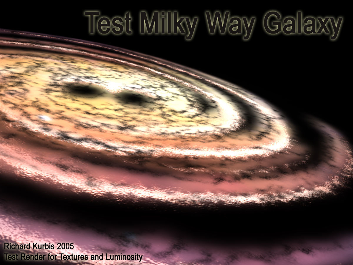 3D Milky Way WIP, Need input!!! by Magnatude