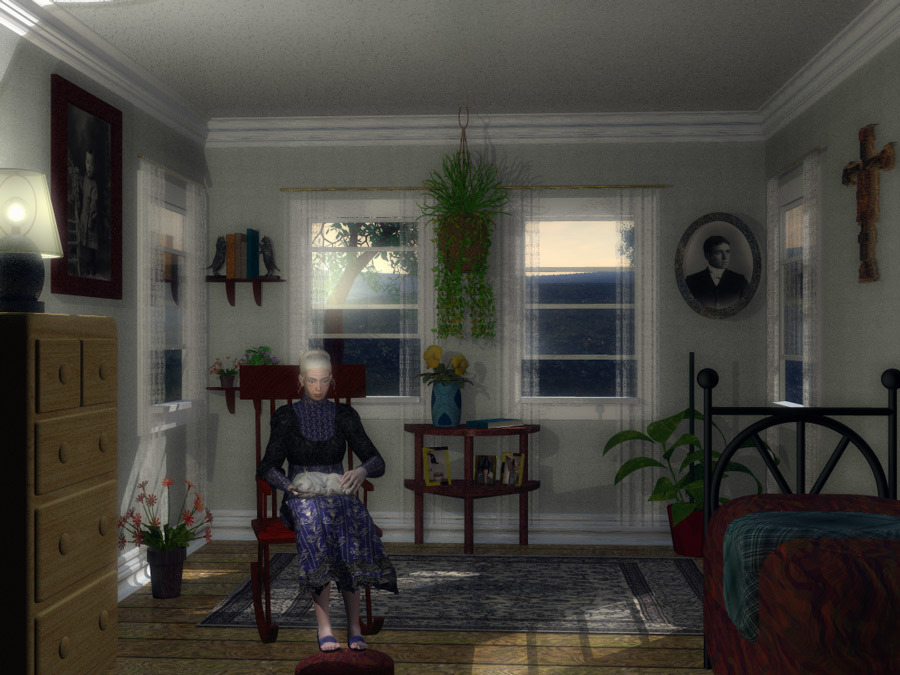 Grandmother's Room by ascript