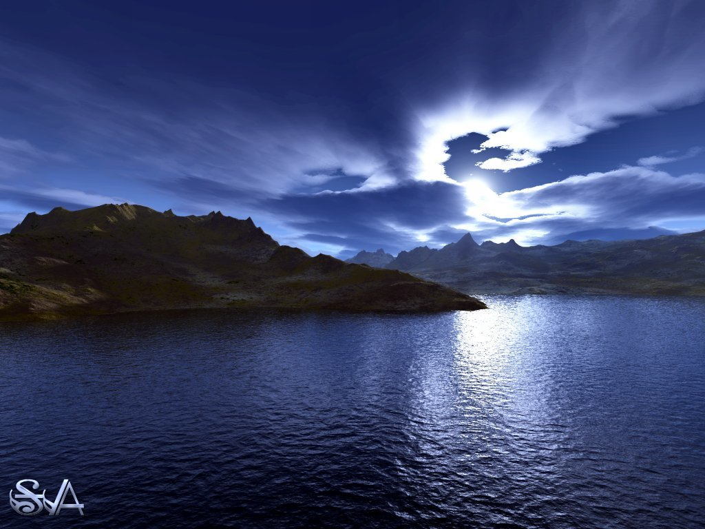 Moon River by Snow_Angel