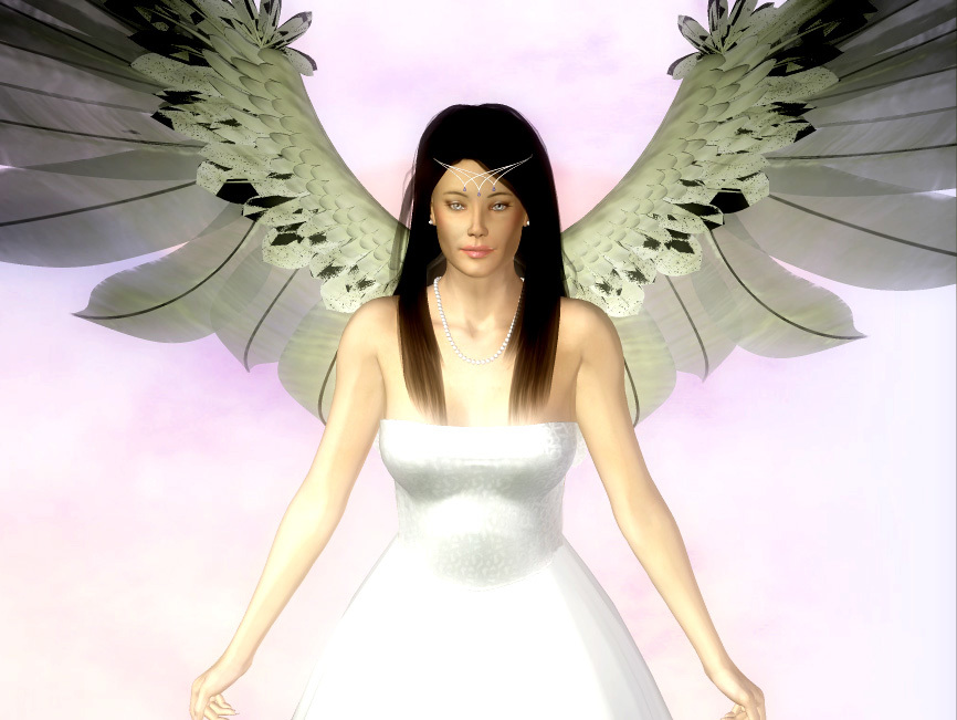 Raven Haired Angel