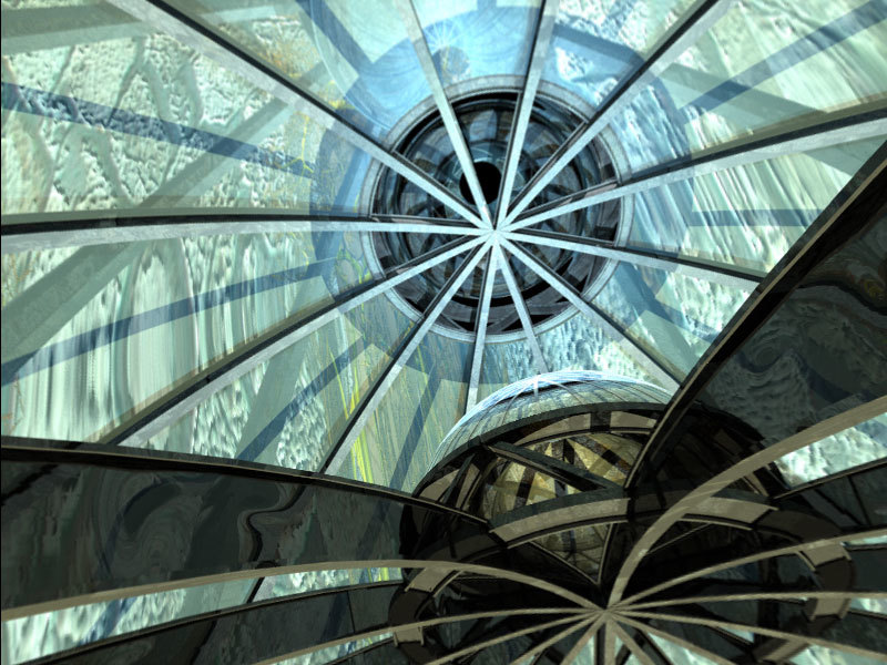 truss dome pano by lemonjim