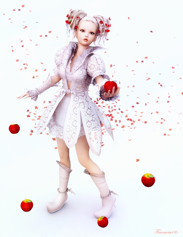 The Red Apples by madame