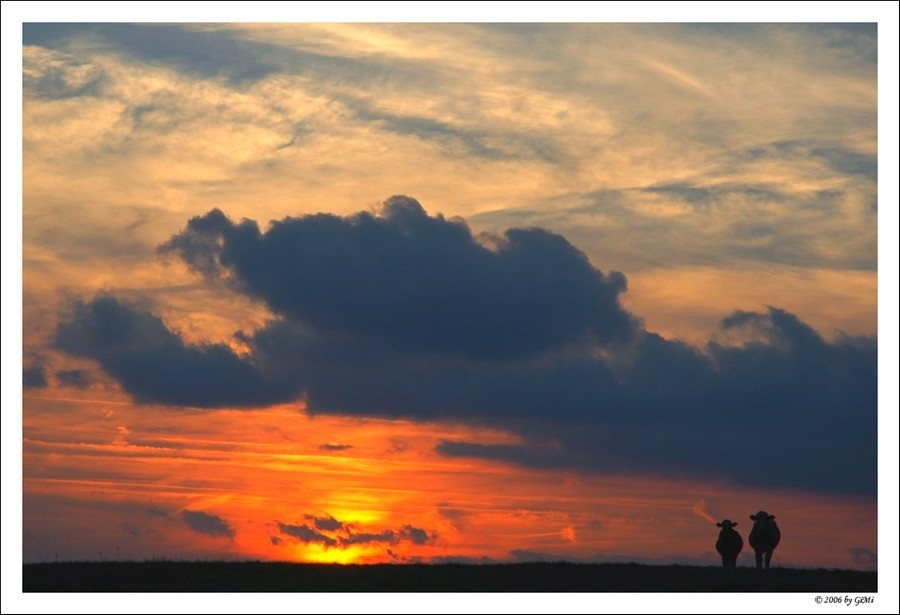Sunset in South Belgium by GiMi53