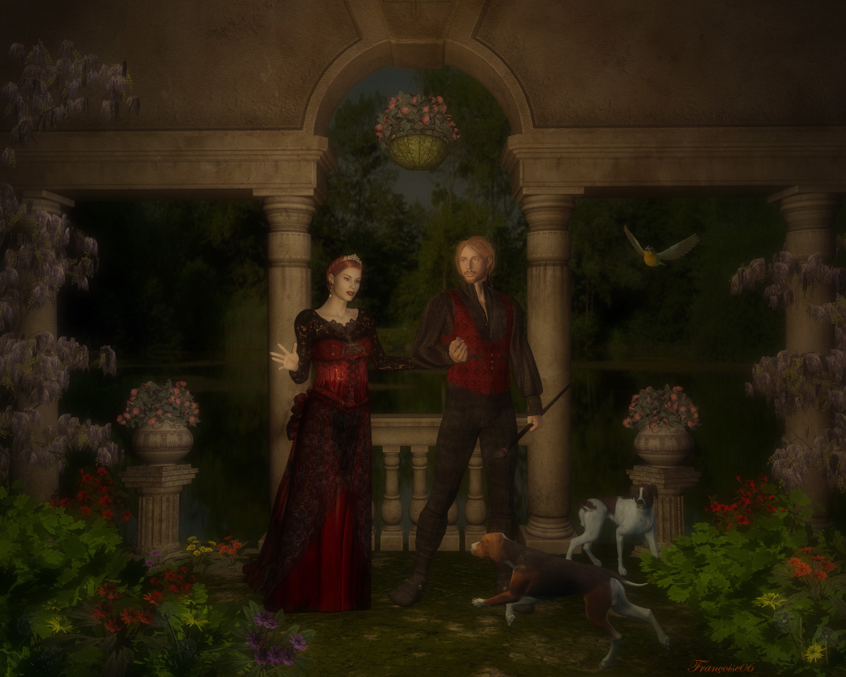 A Romantic Walk by madame