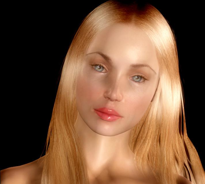 *~*Beautiful Blonde with Blue Eyes*~* by Melisand