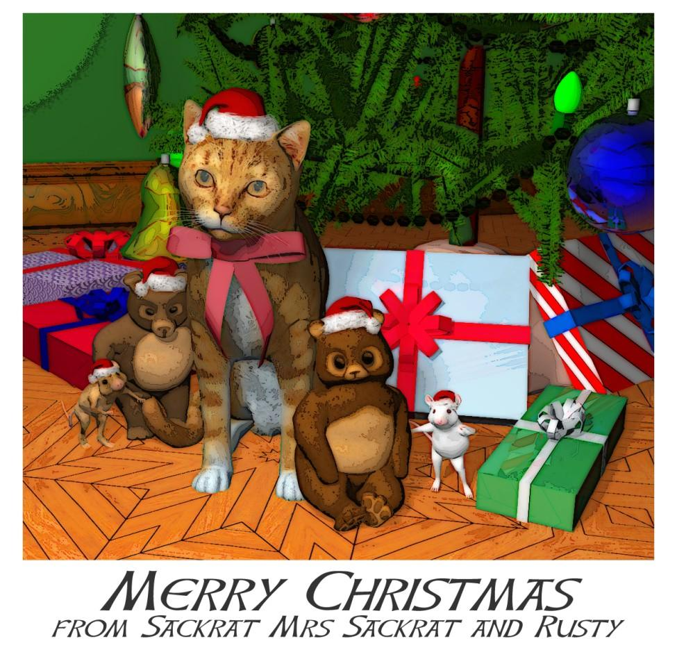 Merry Christmas ! by sackrat