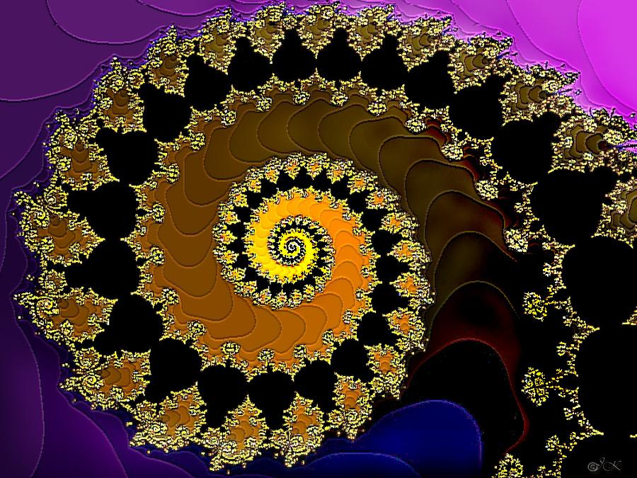 Spiral of Mandelbrot set  by -Josh-