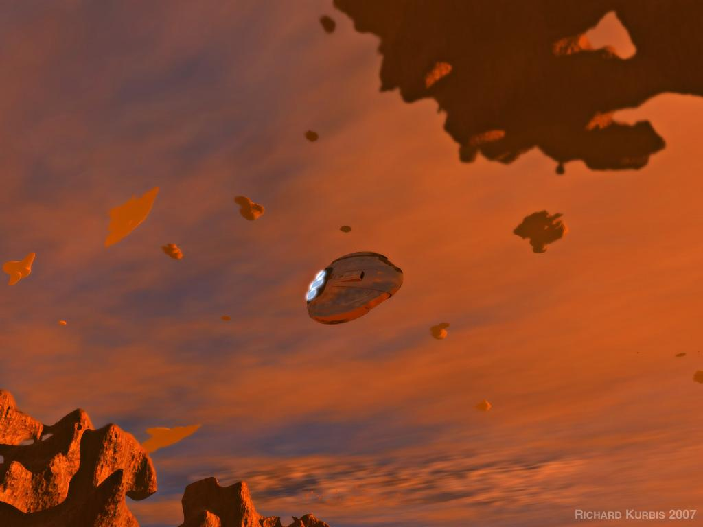 UFO Sighting Perseus by Magnatude