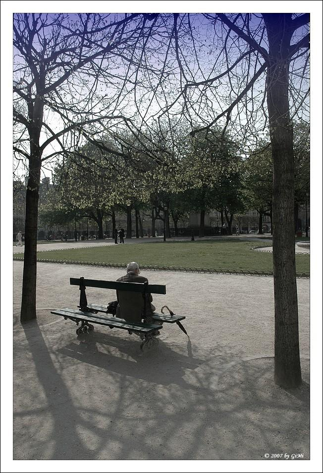 Benches in Paris #2 - for Jodie & Matthew by GiMi53