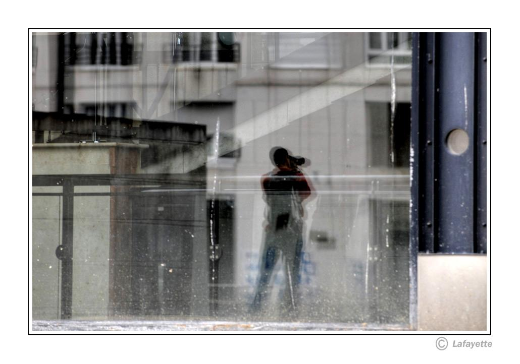 Reflections in the window, for Janiss and Zorg by lafayette
