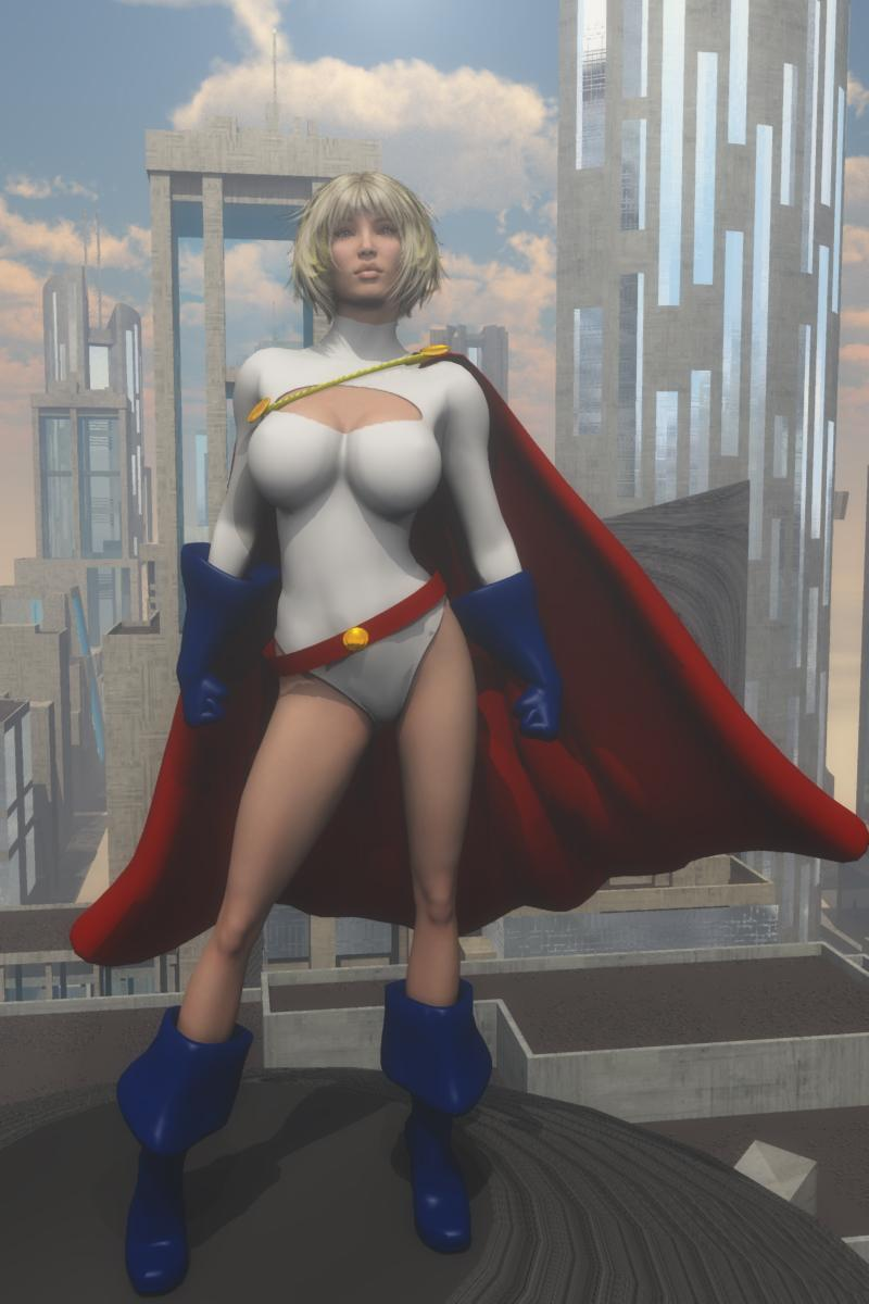Power Girl by Wasgo