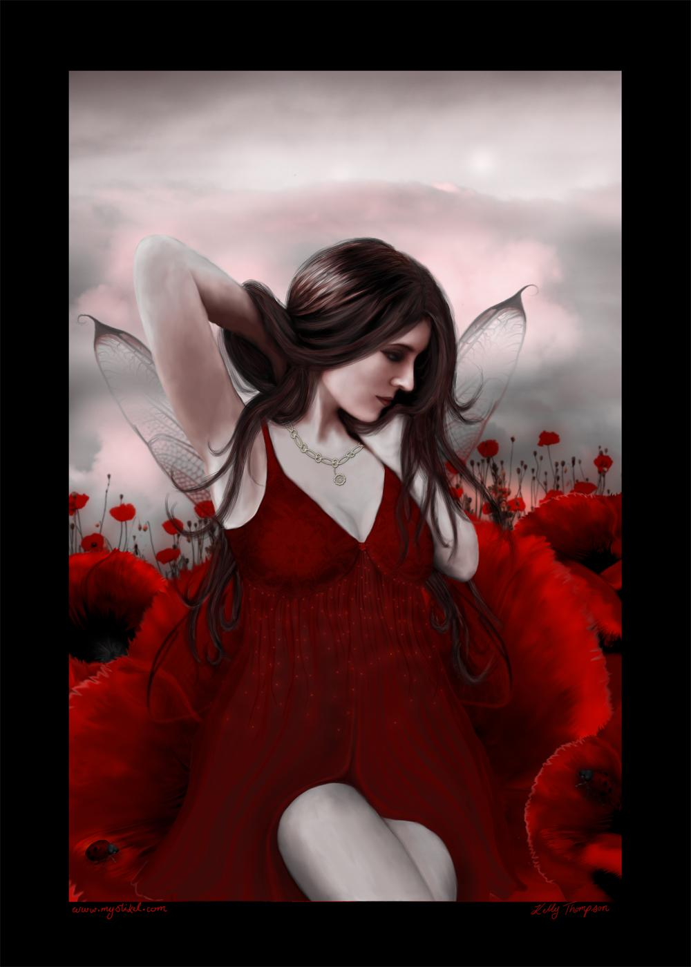 In a Field of Poppies