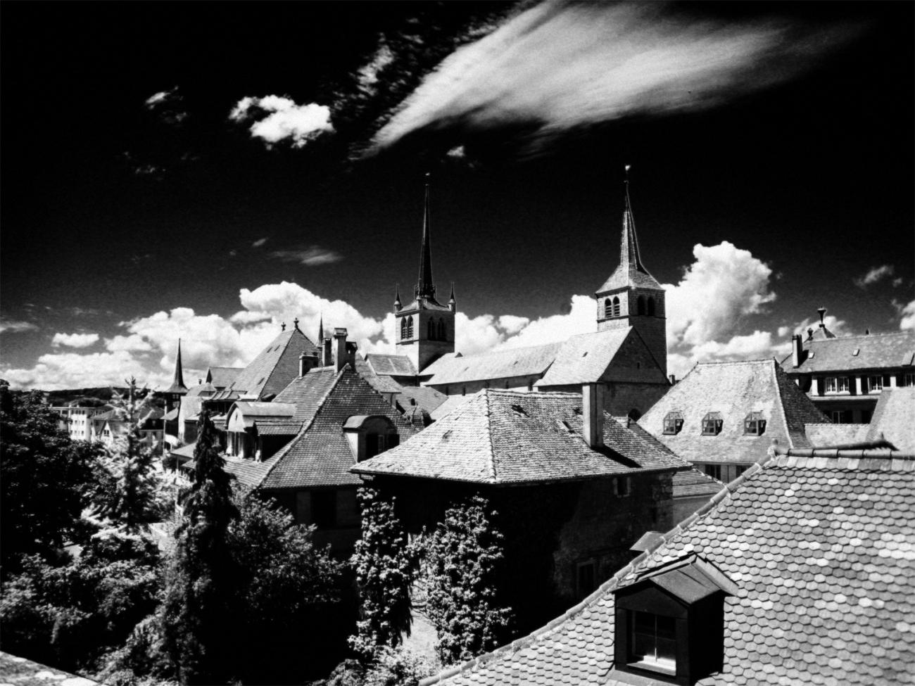 Infrared Old City for TwoPynts by aik_696