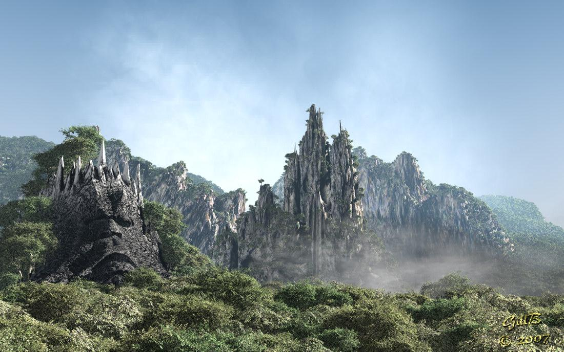 Valley Of The Damned by gillbrooks