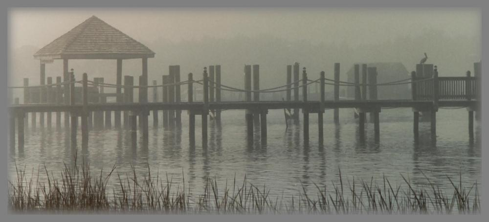 The Dock - Ocracoke # 2 by skiwillgee