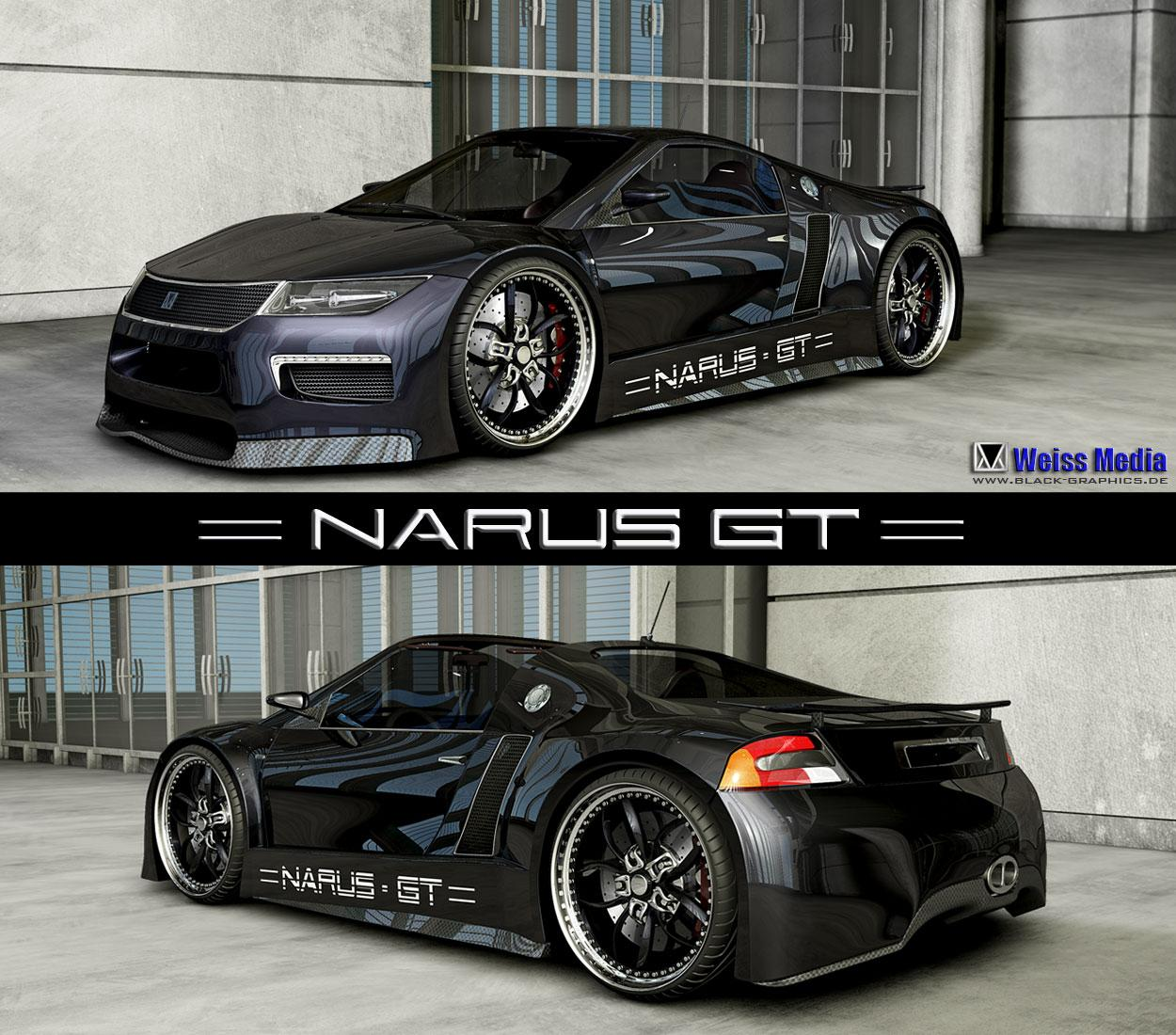 BG Narus GT Concept by m3d