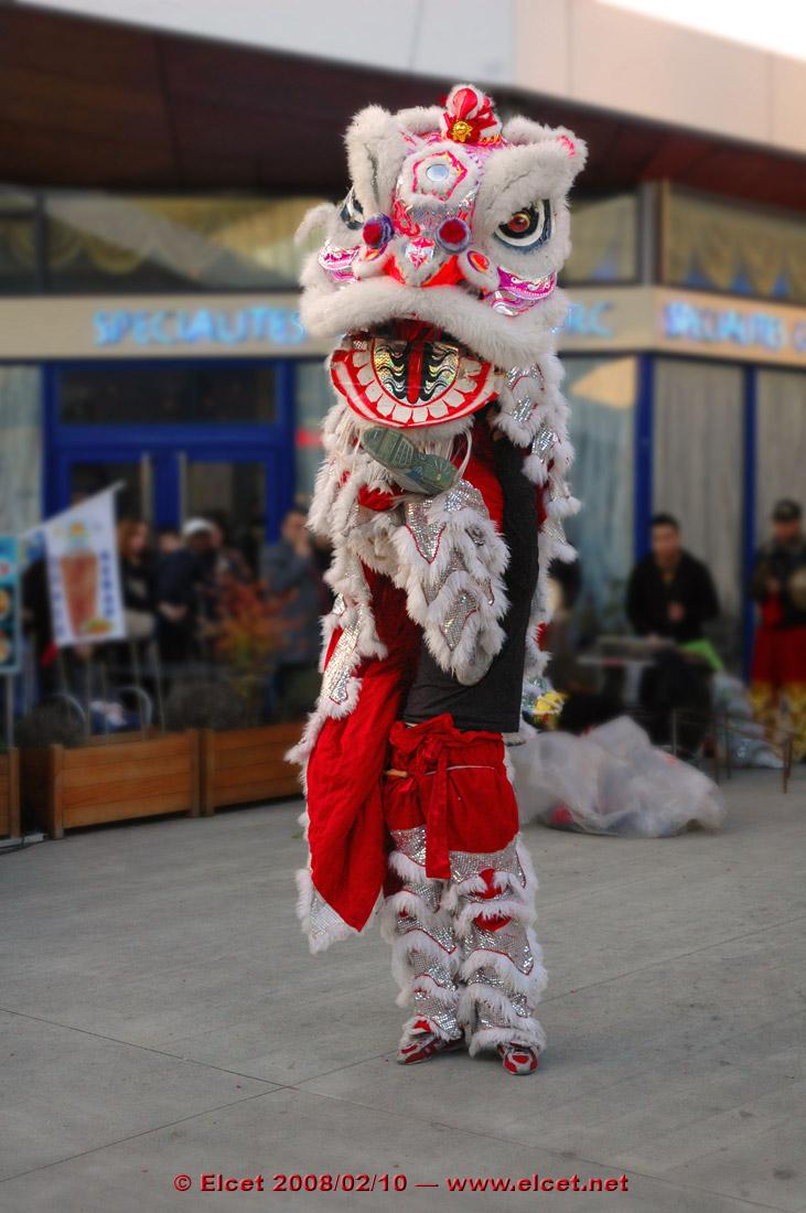 Chinese New Year 2: the lion's shoe