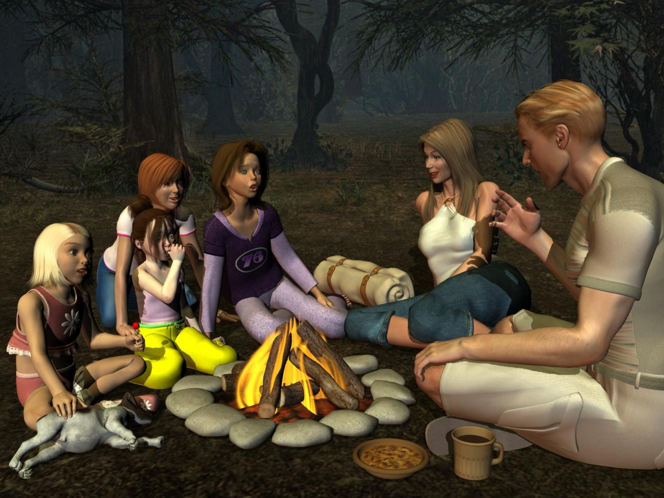 Campfire Stories (for pennykay)