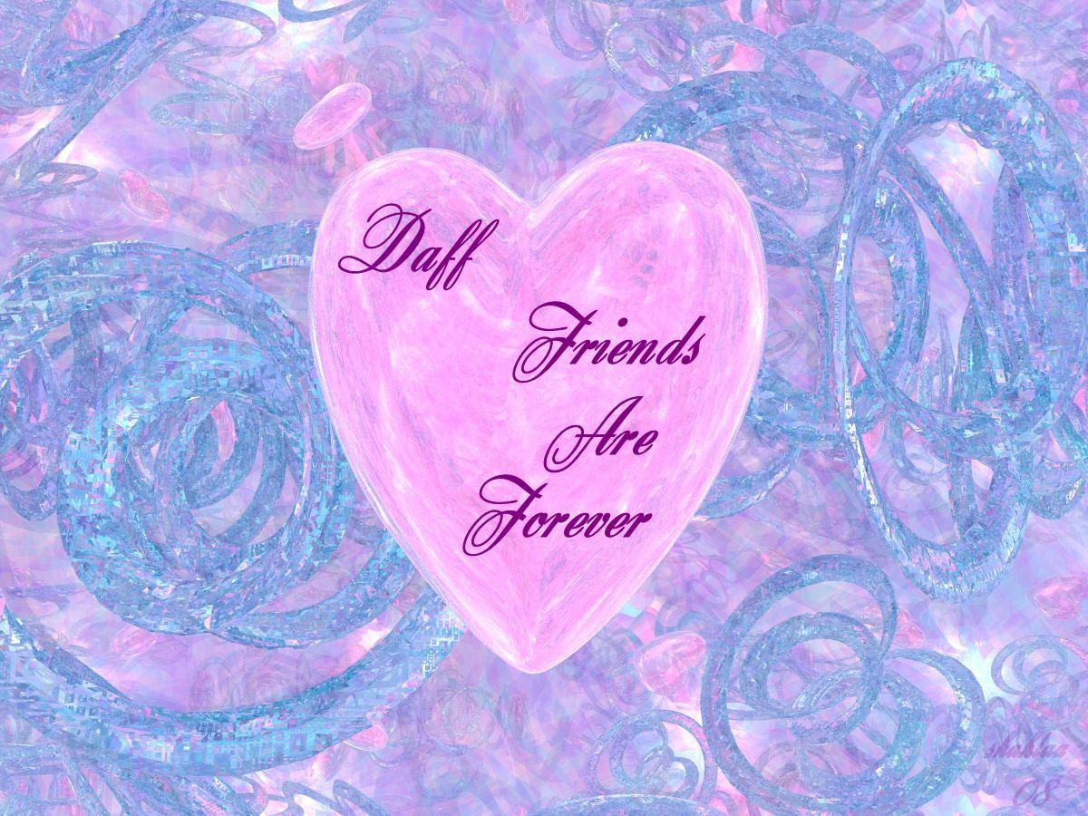 Friends Are Forever....For daffodilbaggins by shahlaa