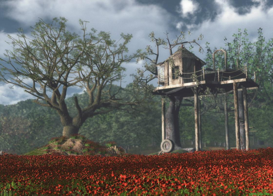 Tree House by sackrat