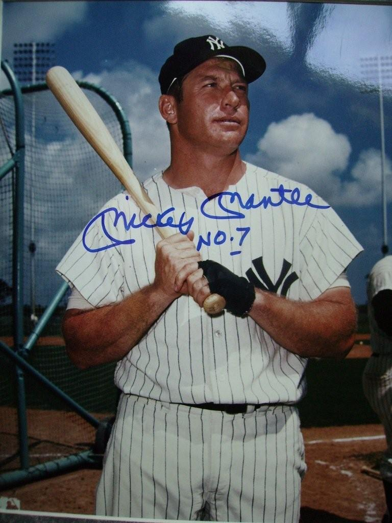 Older Mickey Mantle
