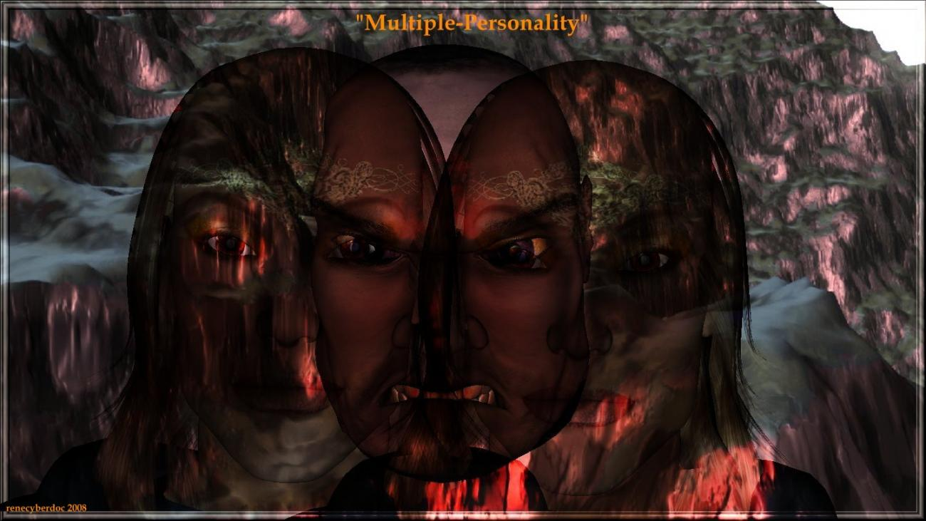 Multiple-Personality by renecyberdoc