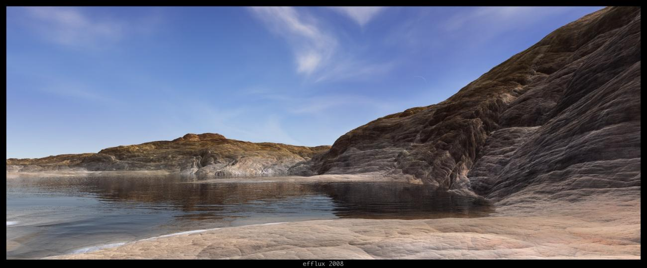 Fool's Gold Cove by efflux