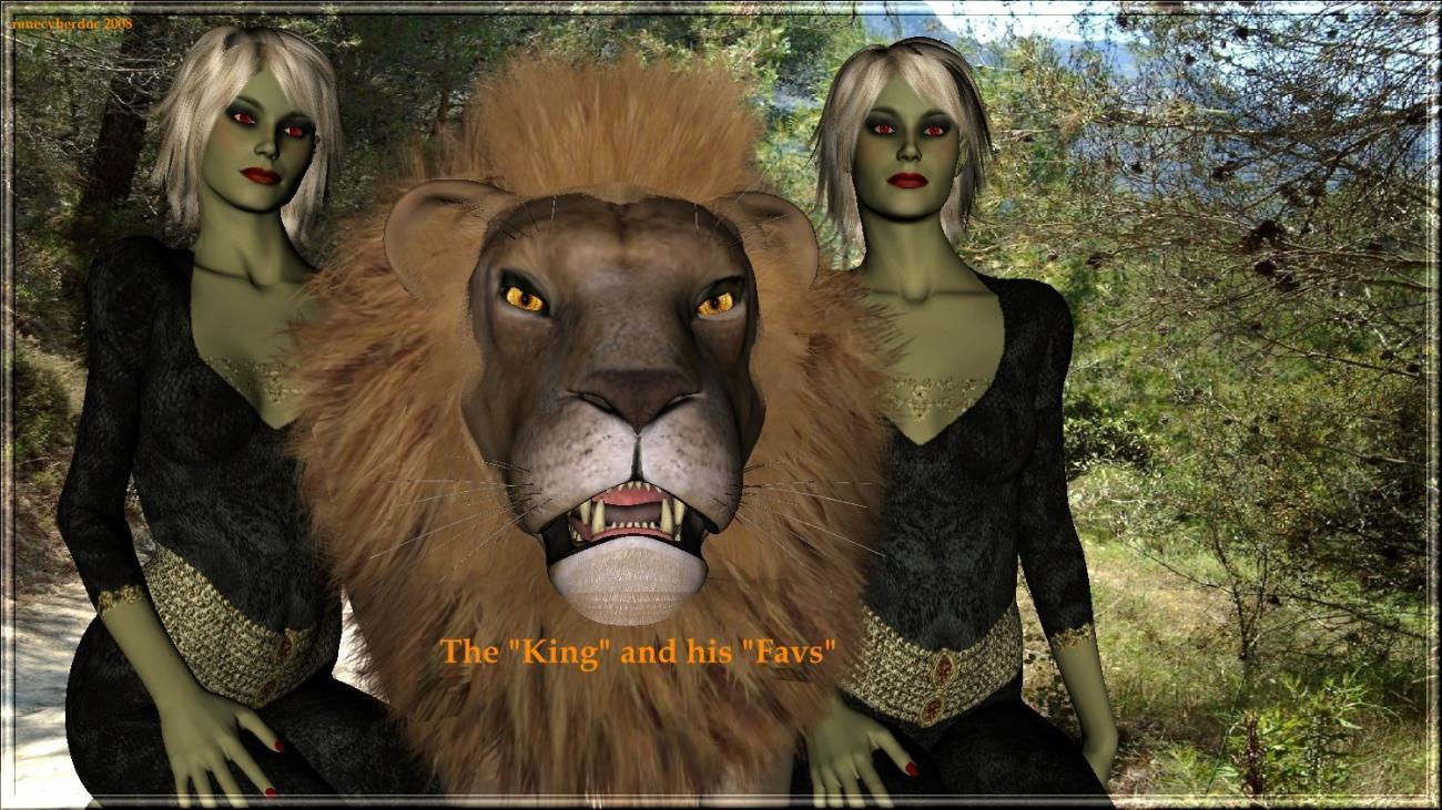 The Lion-King & his Favs by renecyberdoc