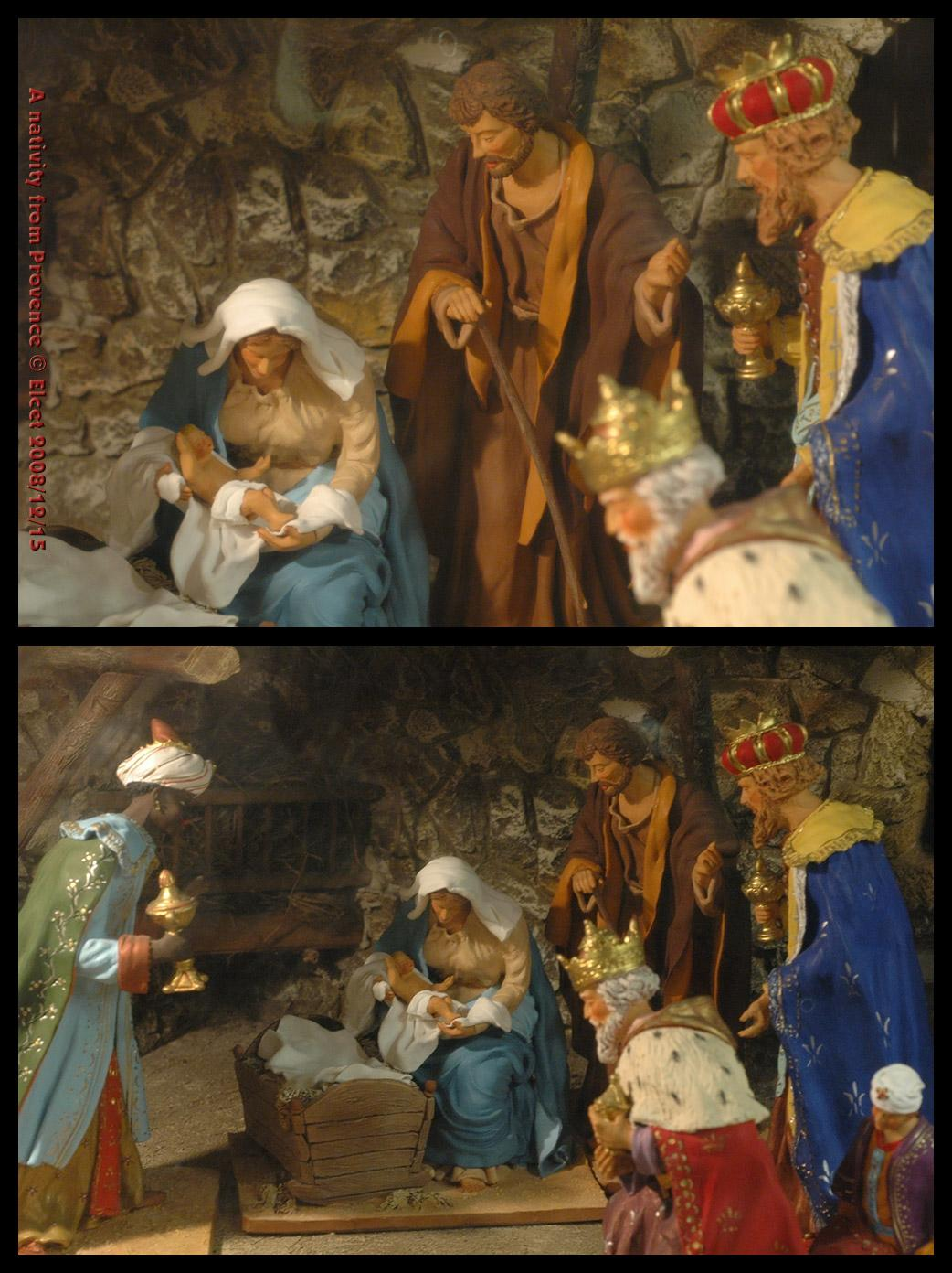 A Nativity from Provence by Elcet