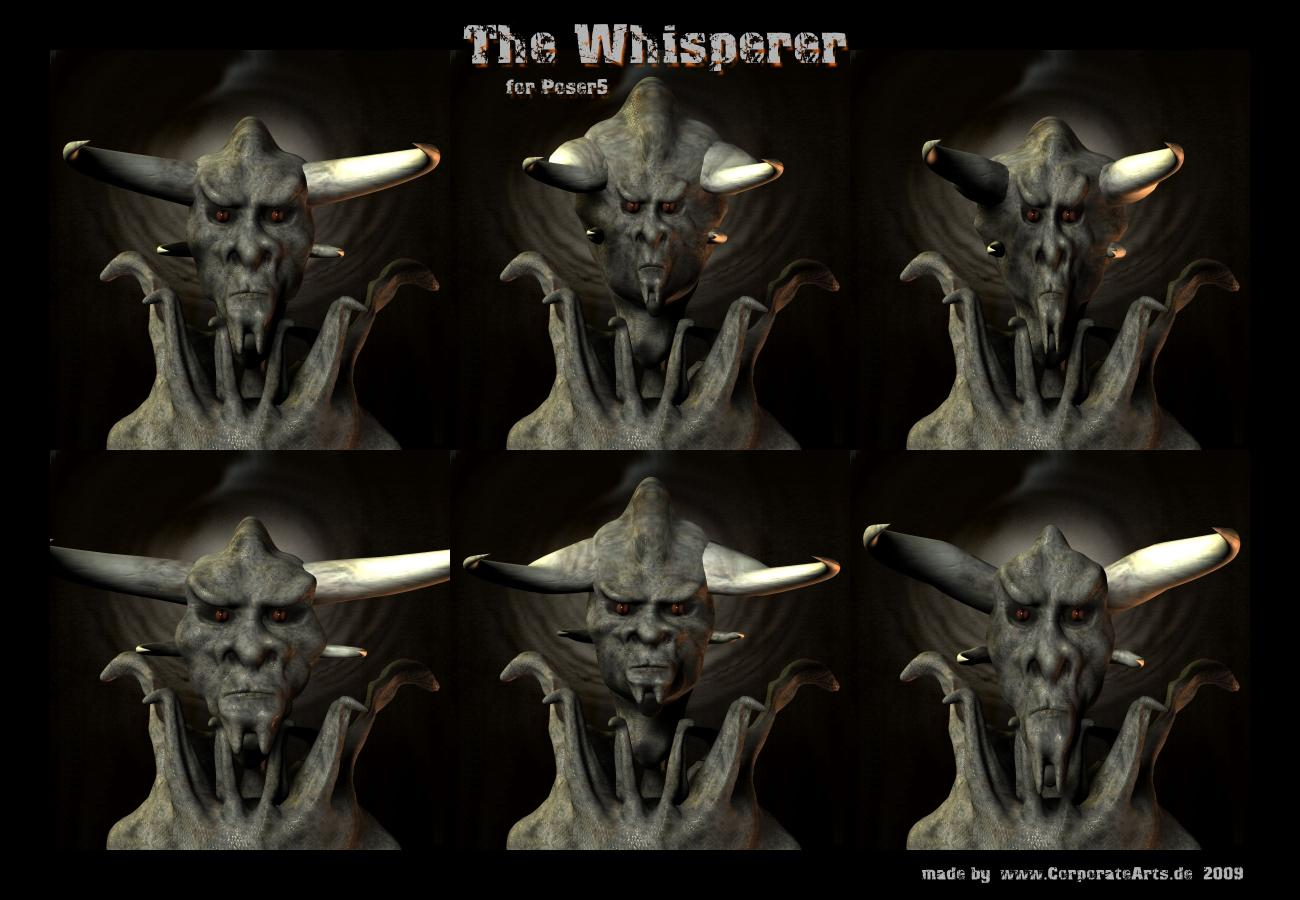 The Whisperer's Faces by CorporateArts
