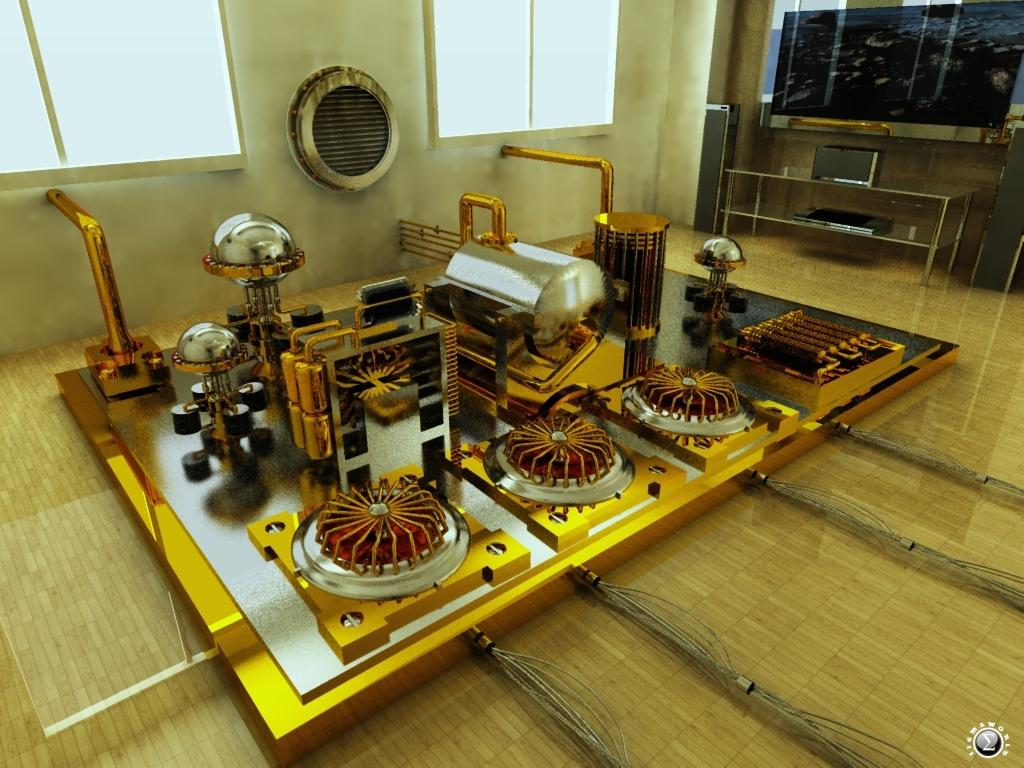 My own nuclear fusion reactor power plant by SIGMAWORLD