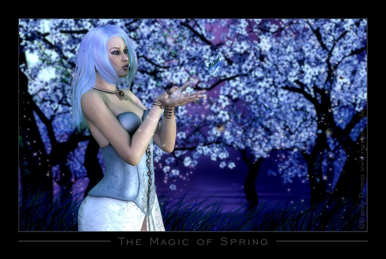 The Magic of Spring (for Wild) by RavynGyrl