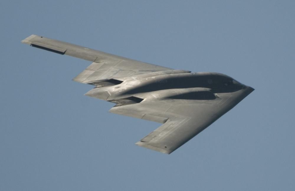 B-2 Stealth Bomber by skiwillgee