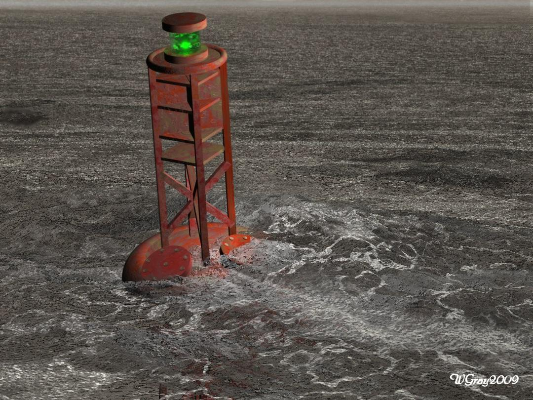 Sea Bouy WIP? by skiwillgee
