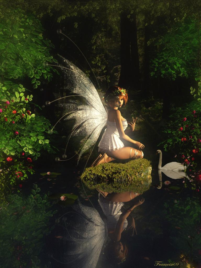 Faery Reflections by madame