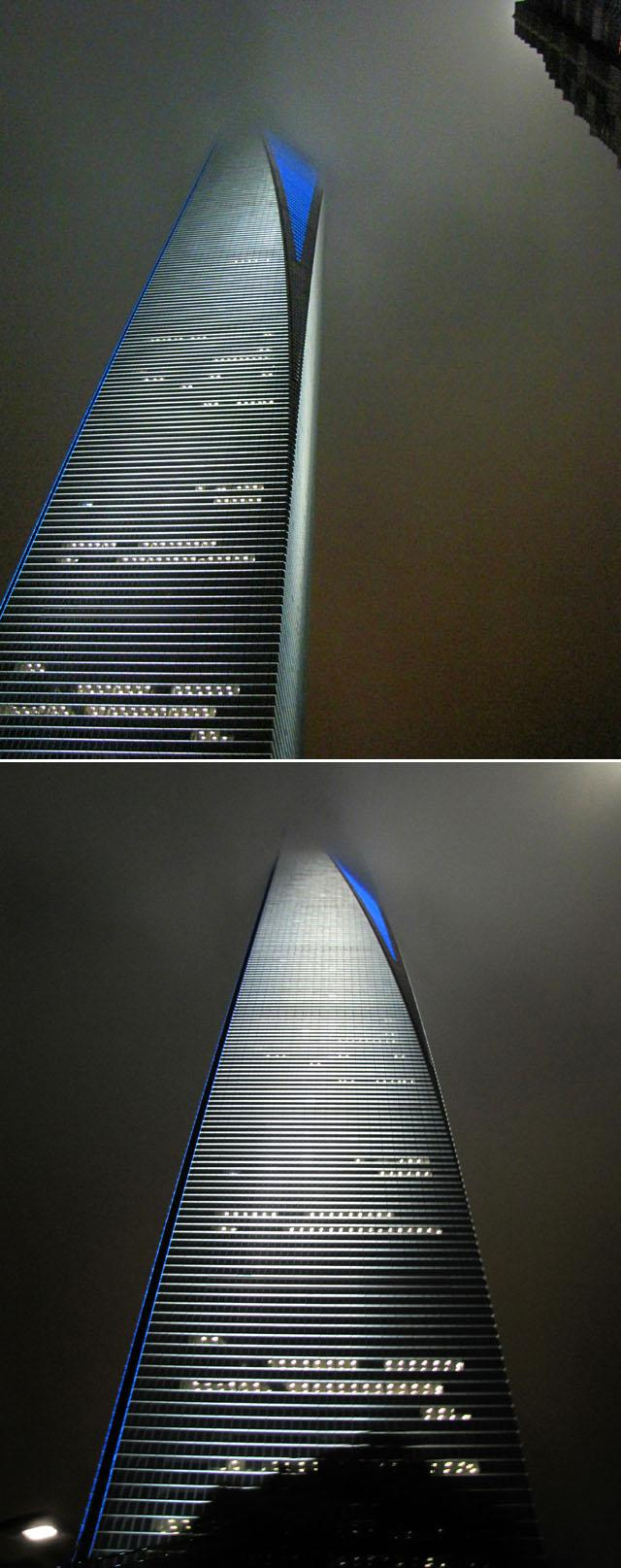 The tallest building in Asia - two night views by nelsone