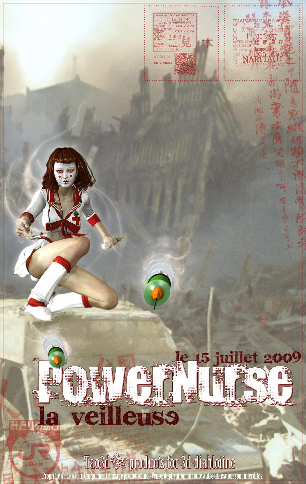 PowerNurse, la veilleuse by Tao3d