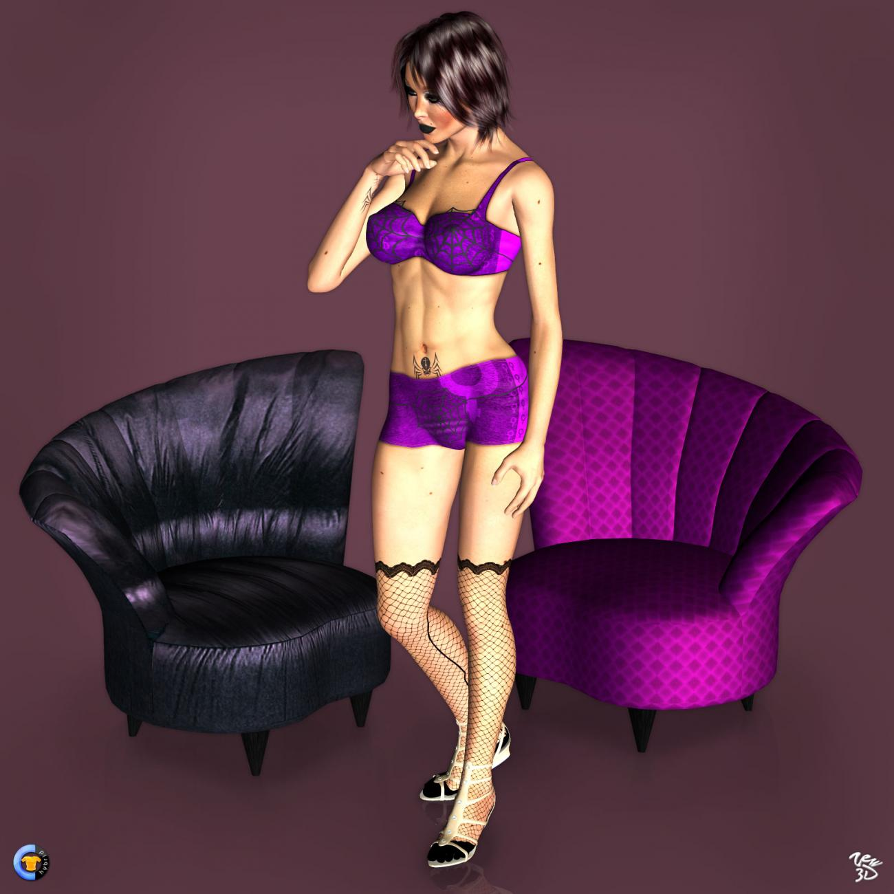 CLOTHER Hybrid - Dark violet by zew3d