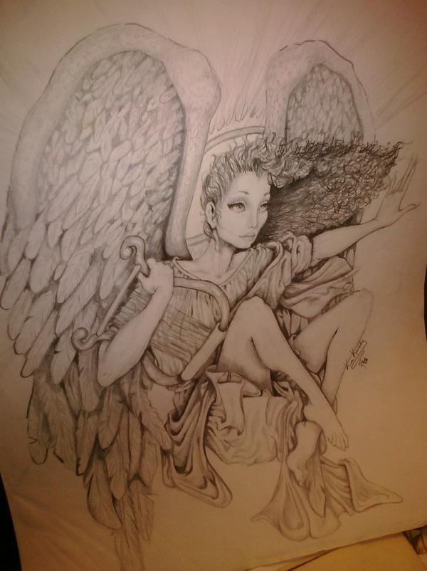 this is an old drowing i did back in 95 LOL enjoy