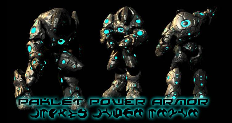 Paklet Power Armor by Mestophales
