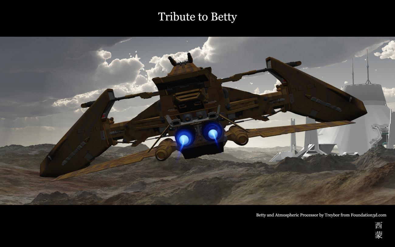 Tribute to Betty by Digger2000
