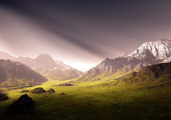 Mountain by volcomman1