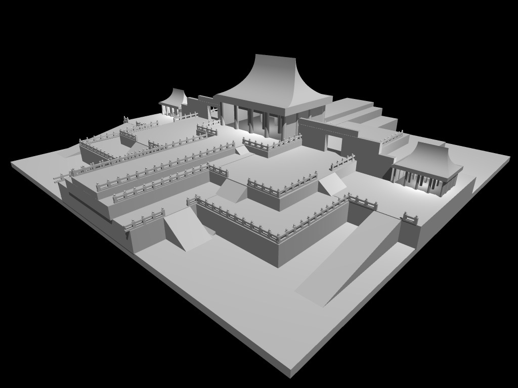 Forbidden City II WIP render
