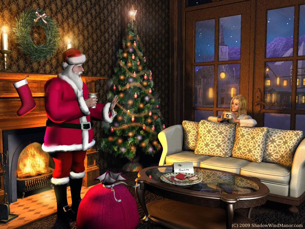 Happy Holidays:Yes Virginia,There is a Santa Claus by ShadowWind