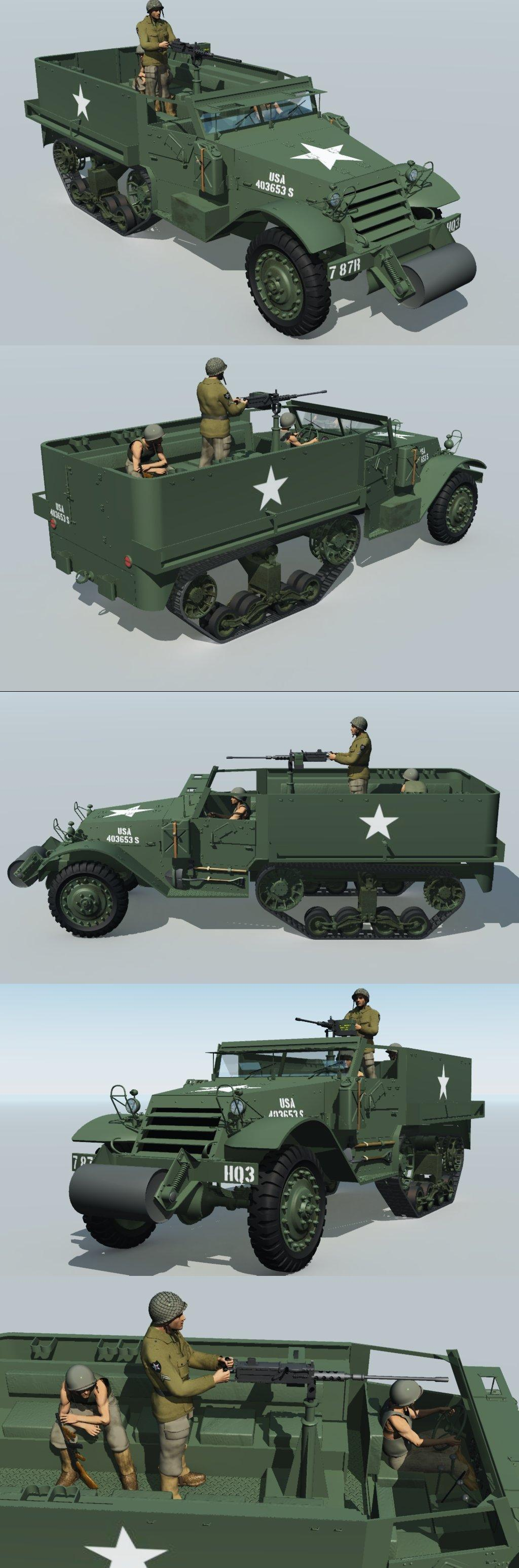 Patton Army by 3DClassics123456