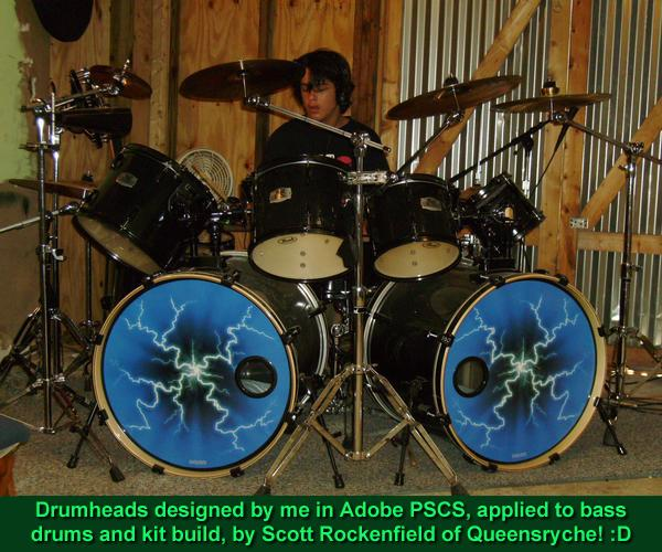 Designing Drums With Queensryche