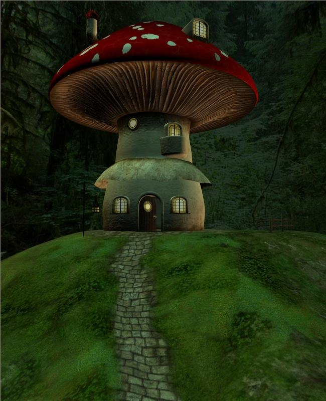 Livin' In A Mushroom - Deep Forest Light by -Jordi-