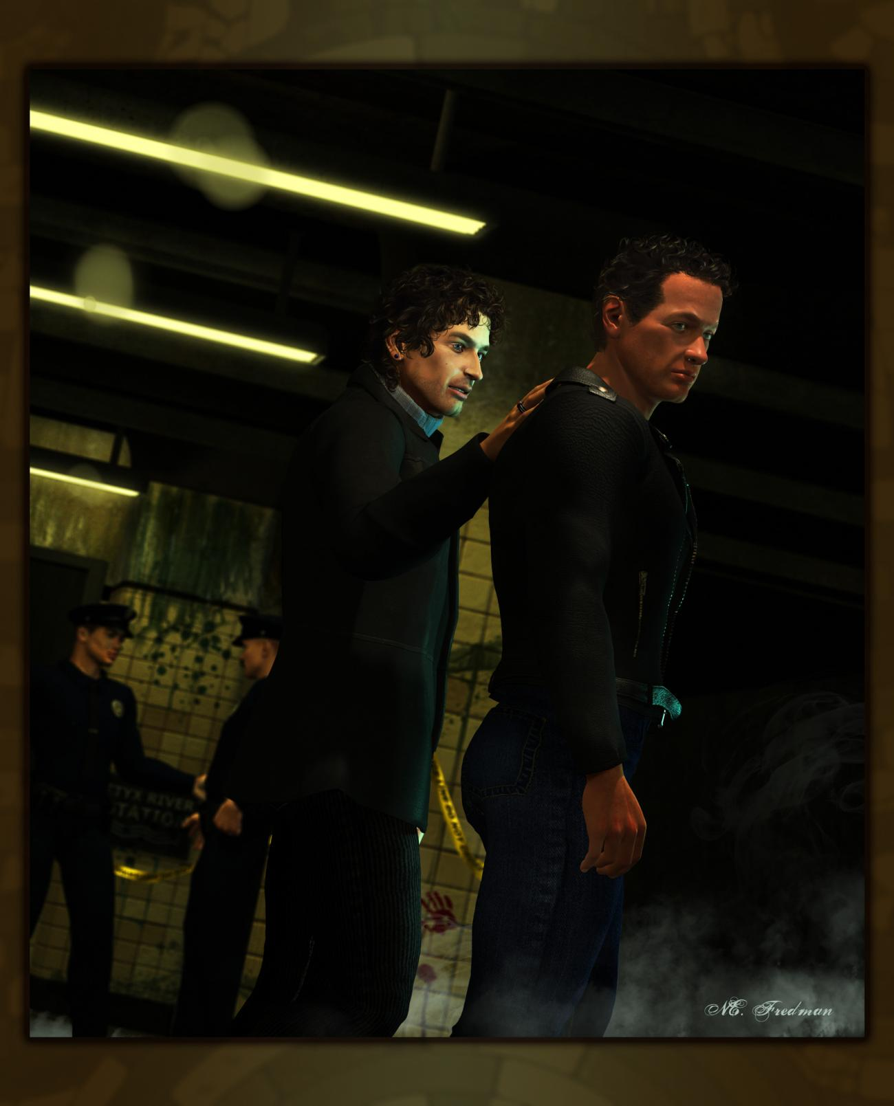 Trouble on the Red Line (2): Julian and Kaminski